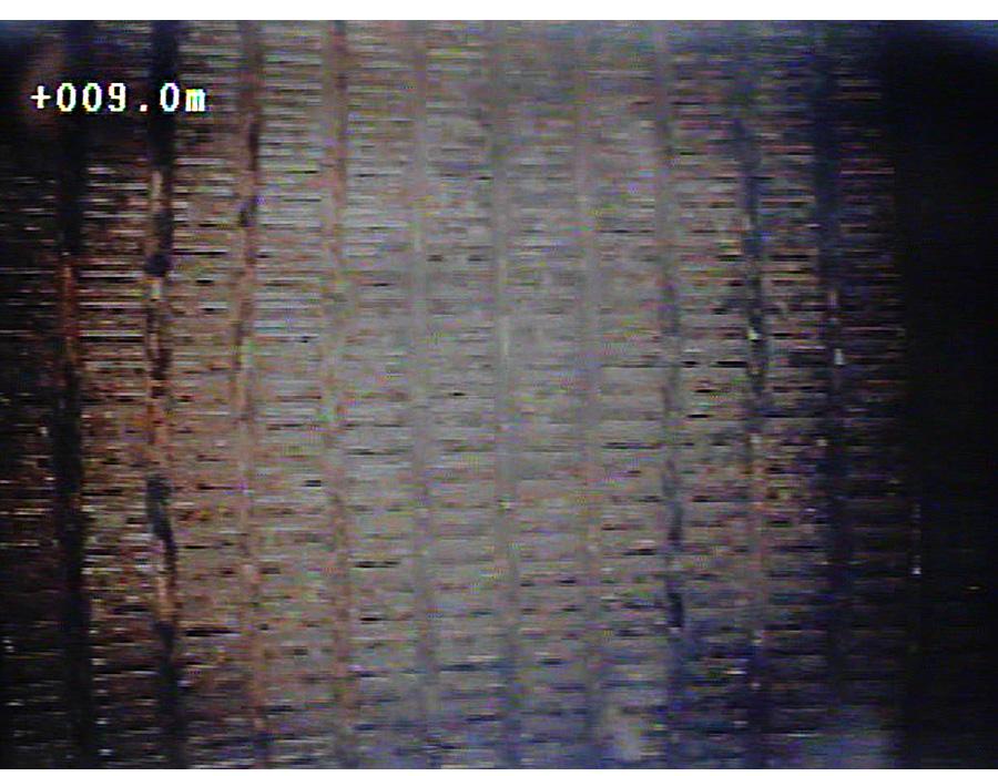 Wickeldrahtfilter - Vor der Regenerierung mittels hydropuls