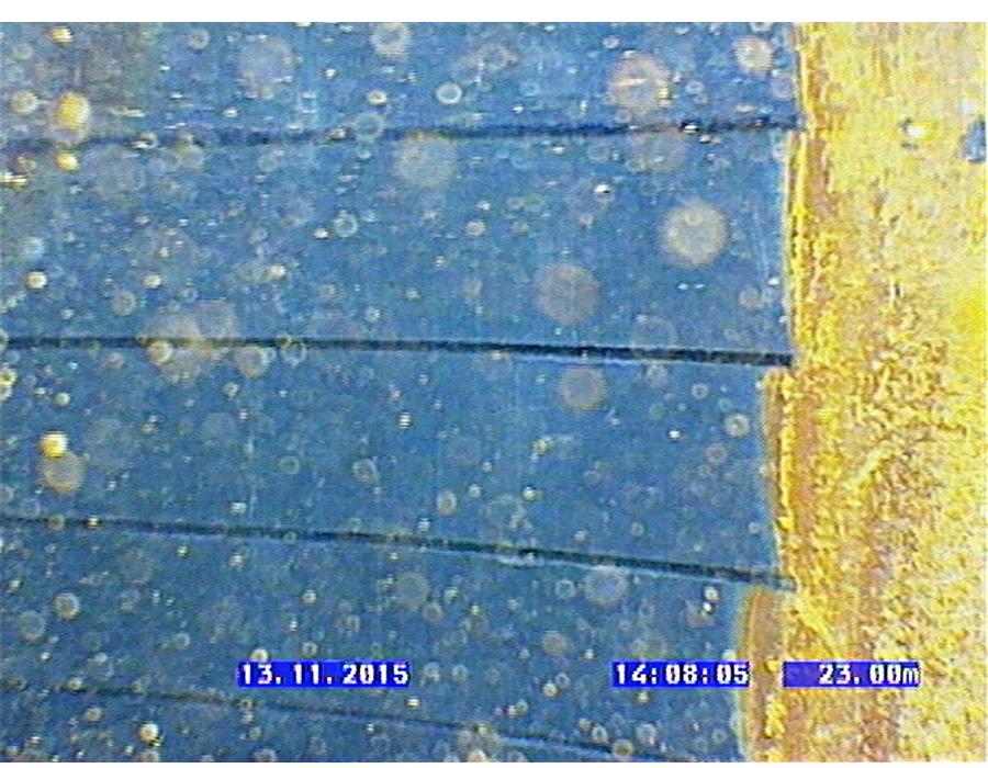 PVC - Nach der Regenerierung mittels hydropuls
